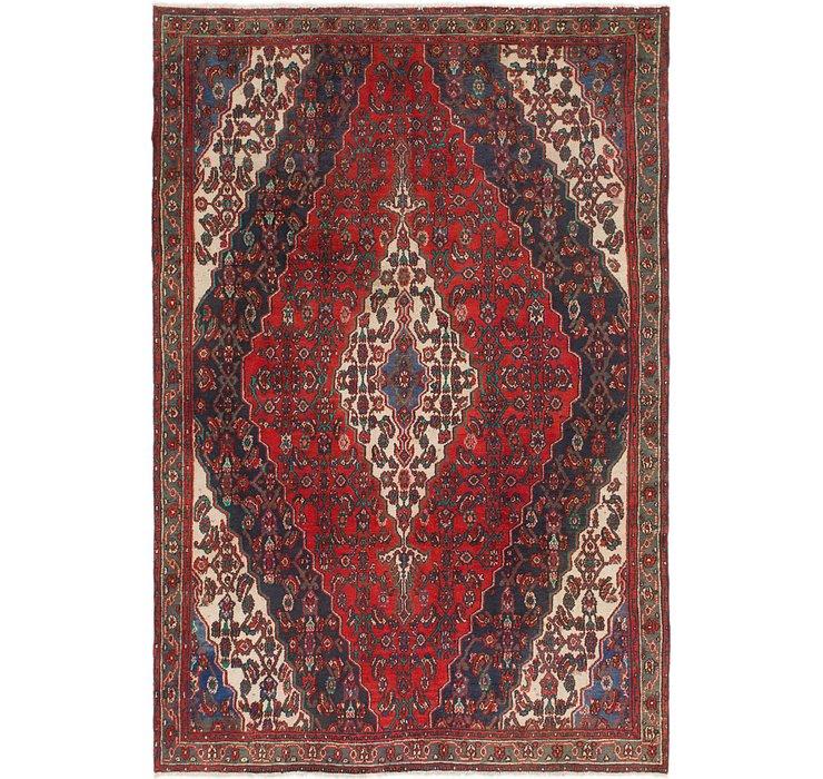 6' 9 x 9' 10 Joshaghan Persian Rug