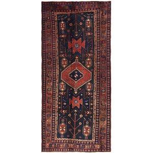 4' 5 x 9' 9 Shiraz Persian Runner Rug