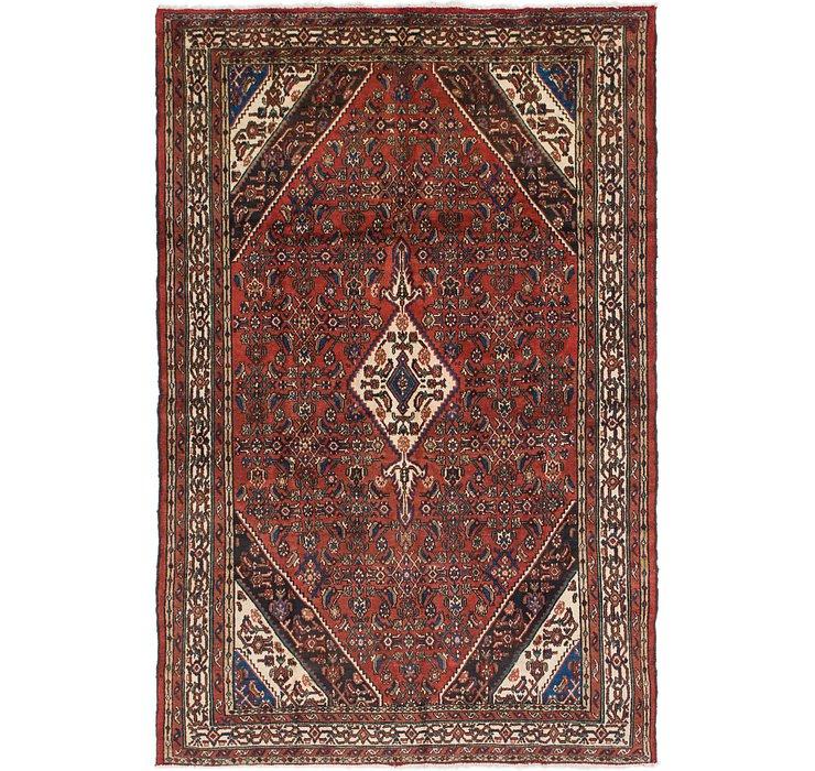 6' 8 x 10' 3 Joshaghan Persian Rug
