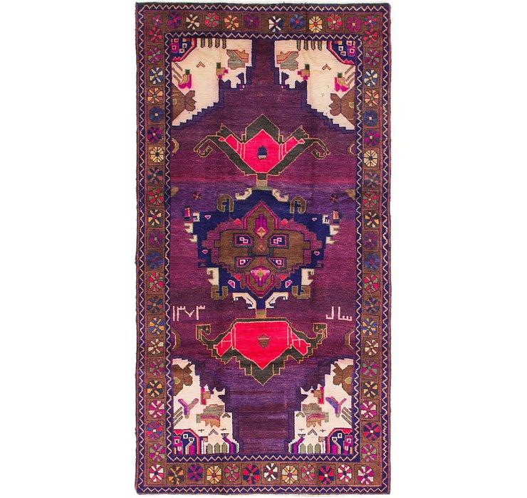 4' 10 x 9' 5 Shiraz Persian Runner Rug