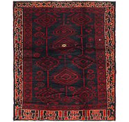 Link to 5' 8 x 6' 4 Shiraz Persian Square Rug