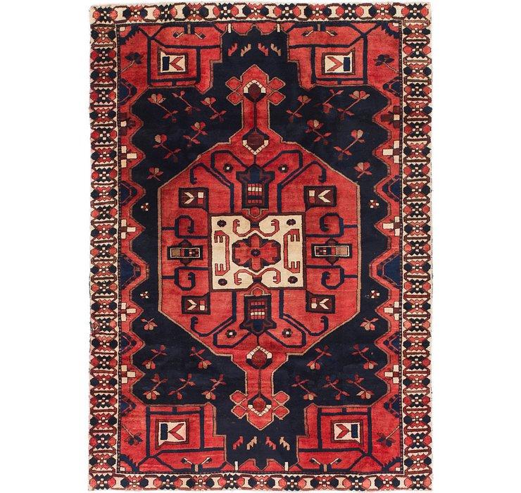 5' x 6' 10 Bakhtiari Persian Rug
