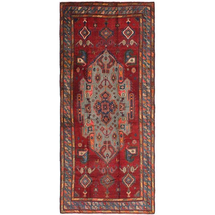 5' 3 x 11' 8 Shiraz Persian Runner Rug