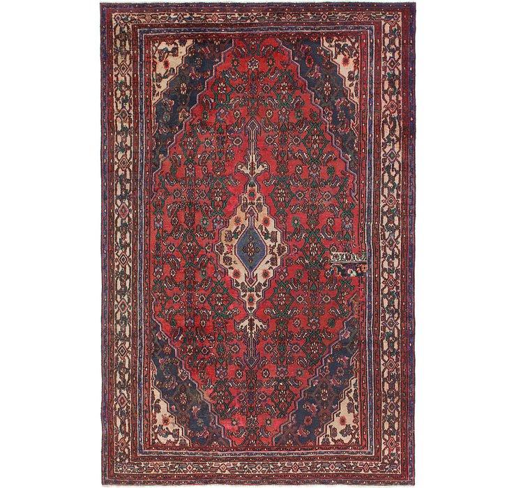 198cm x 305cm Joshaghan Persian Rug