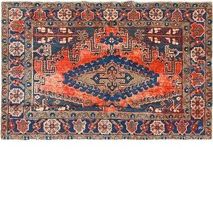 4' 8 x 7' Viss Persian Rug