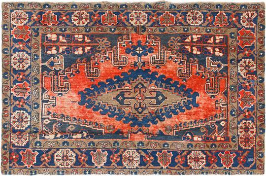 Navy Blue 4 8 X 7 Viss Persian Rug Persian Rugs Esalerugs