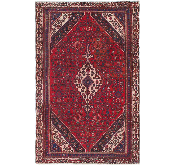 6' x 9' 5 Joshaghan Persian Rug