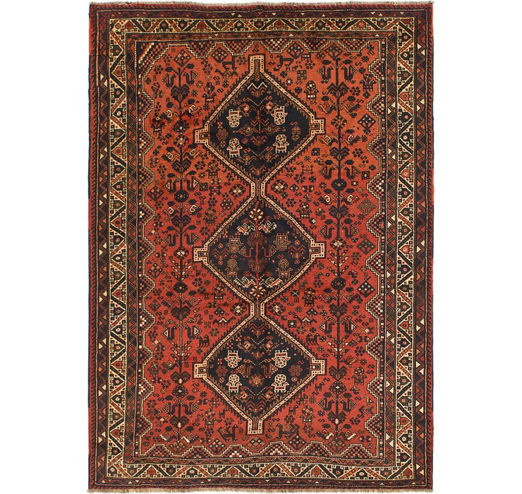 7' 2 x 10' 2 Shiraz Persian Rug
