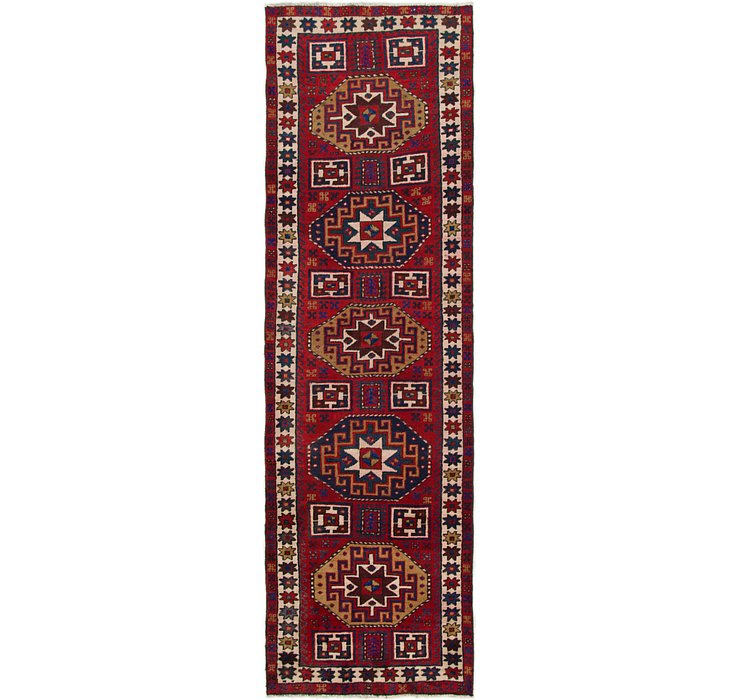 3' x 9' 8 Ardabil Persian Runner ...