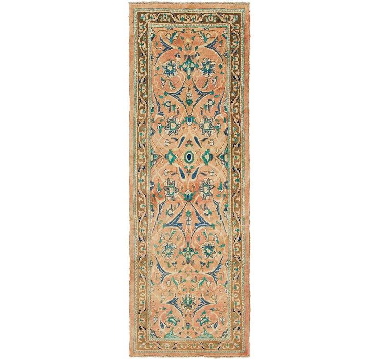 3' 8 x 10' 2 Mahal Persian Runner Rug