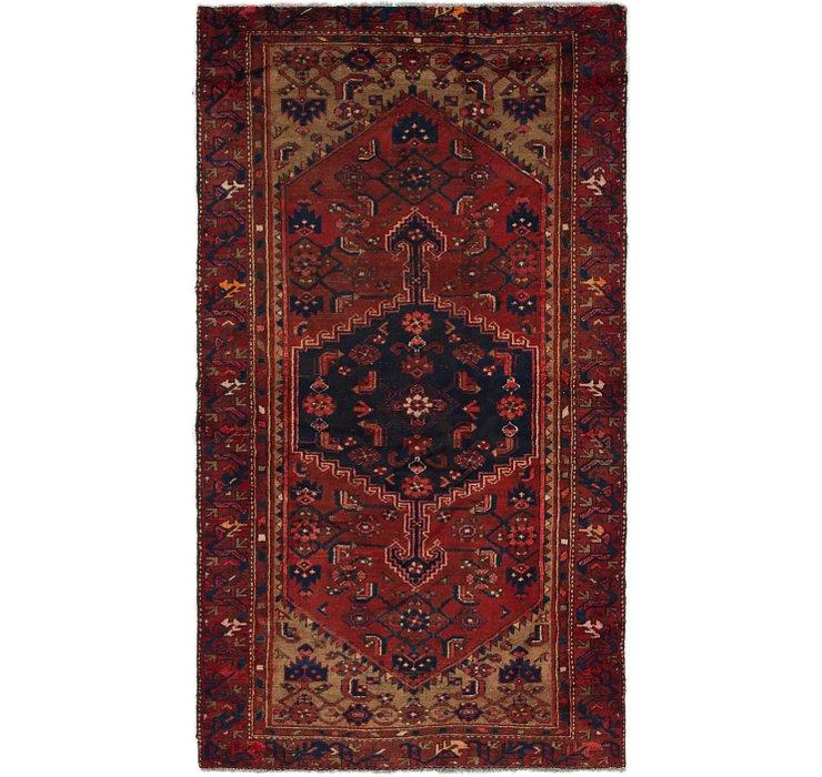 4' x 7' Khamseh Persian Rug