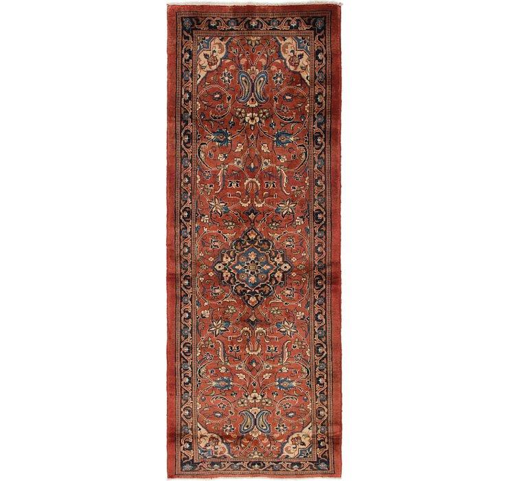 3' 4 x 9' Mahal Persian Runner Rug
