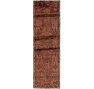 Link to 2' 8 x 8' 5 Hamedan Persian Runner Rug