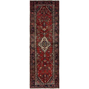 3' 3 x 10' Hamedan Persian Runner ...