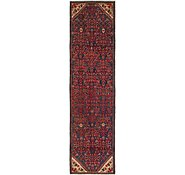 Link to 2' 7 x 9' 9 Hossainabad Persian Runner Rug