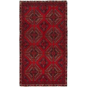 Unique Loom 3' 4 x 6' Ferdos Persian Rug