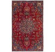 Link to 4' 4 x 7' Mashad Persian Rug