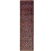 Link to 2' 10 x 9' 5 Hossainabad Persian Runner Rug