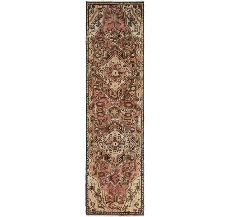 2' 8 x 9' 7 Saveh Persian Runner Rug