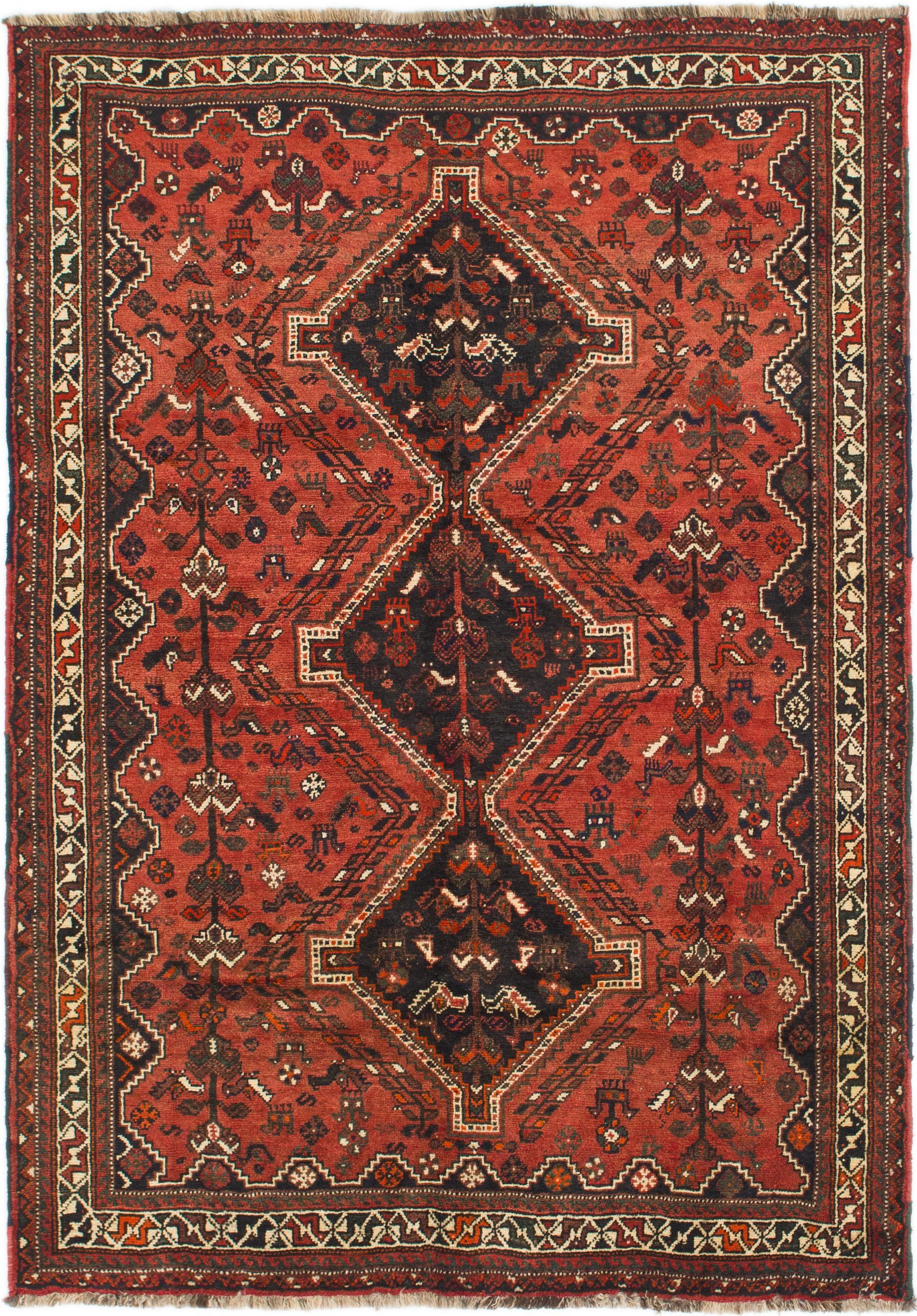 Main 5 6 X 8 Shiraz Persian Rug Photo