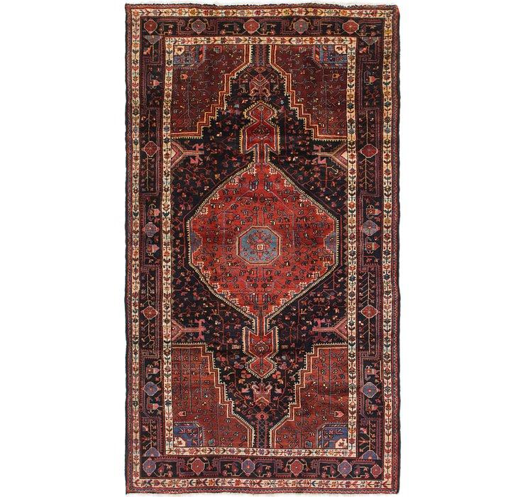 5' 2 x 9' 4 Tuiserkan Persian Rug