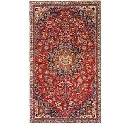 Link to 4' 8 x 8' Mashad Persian Rug
