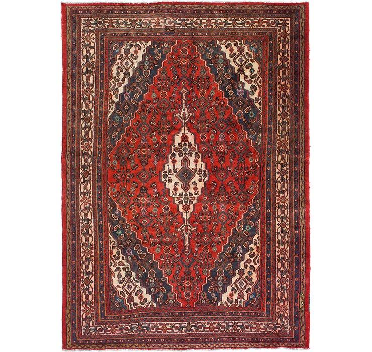 7' 2 x 9' 10 Joshaghan Persian Rug