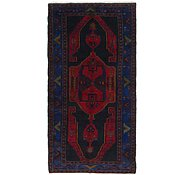 Link to 5' 5 x 11' Hamedan Persian Runner Rug