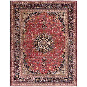 Link to 295cm x 380cm Mashad Persian Rug item page