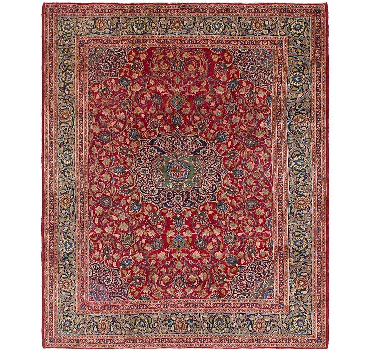 9' 10 x 12' Isfahan Persian Rug