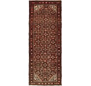 Link to 112cm x 290cm Hossainabad Persian Runner Rug