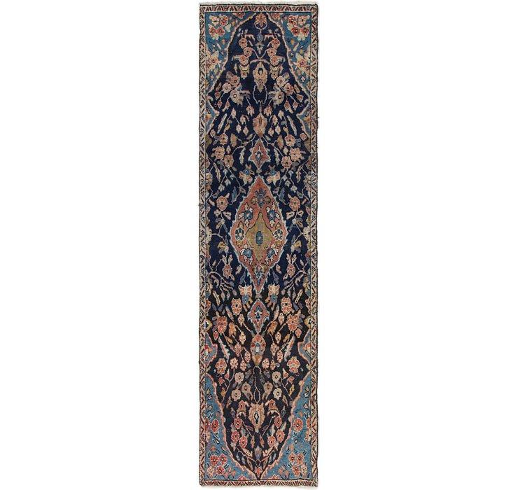 2' 4 x 9' 3 Mahal Persian Runner Rug