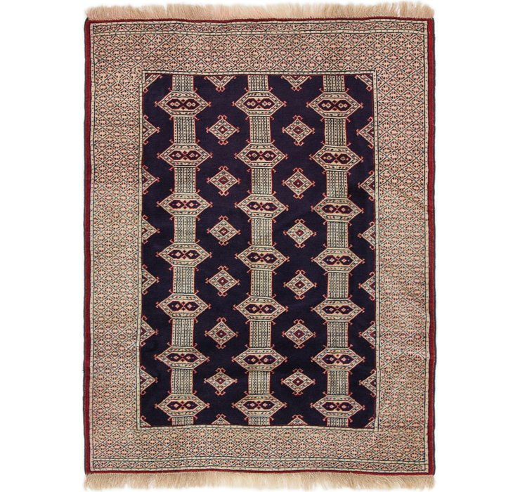 105cm x 132cm Bokhara Oriental Rug