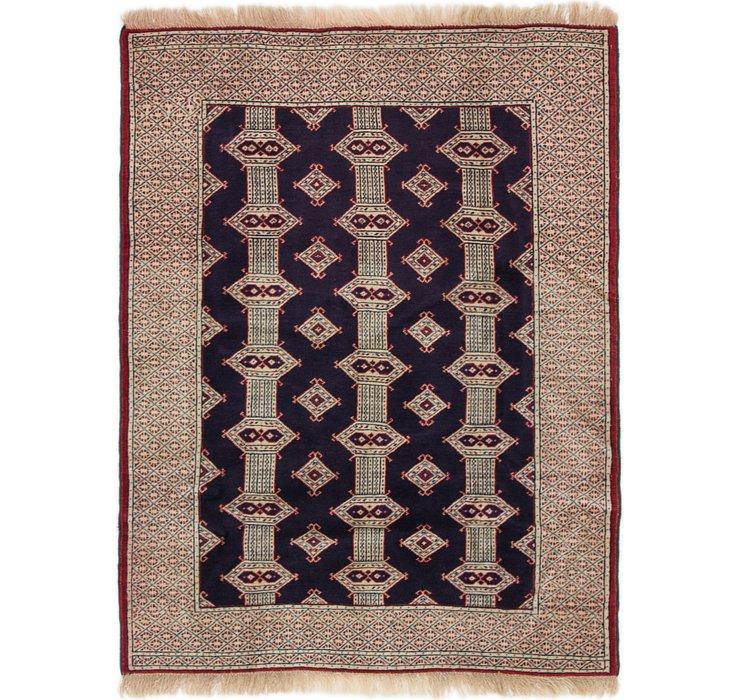 3' 5 x 4' 4 Bokhara Oriental Rug