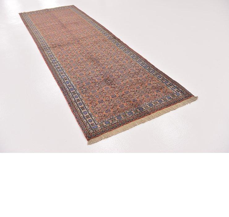 3' 6 x 11' Tabriz Persian Runner Rug