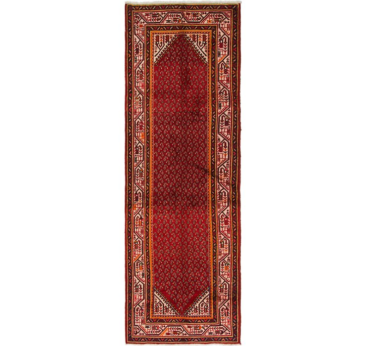 3' 9 x 10' 5 Botemir Persian Runner ...