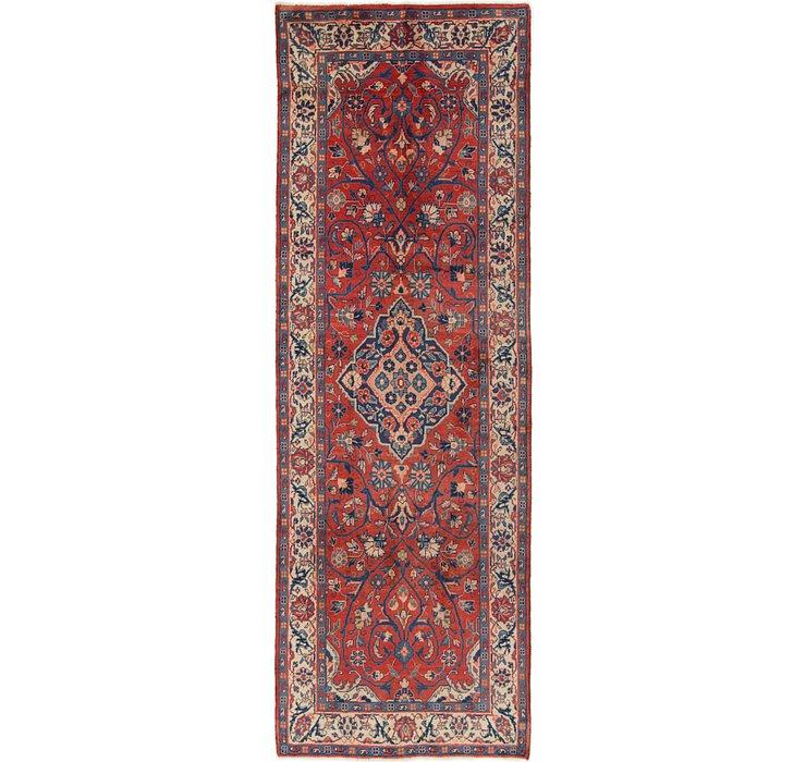 3' 6 x 10' 6 Mahal Persian Runner Rug
