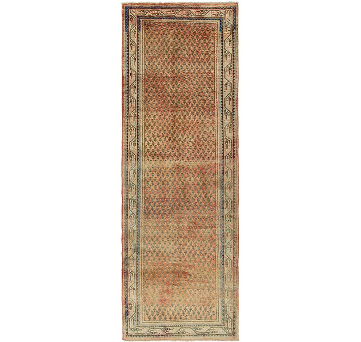 3' 7 x 10' 4 Botemir Persian Runner ...