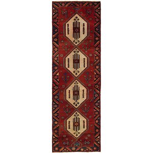 HandKnotted 3' 3 x 9' 10 Hamedan Persian Rug