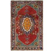 Link to 3' x 4' 9 Tabriz Persian Rug