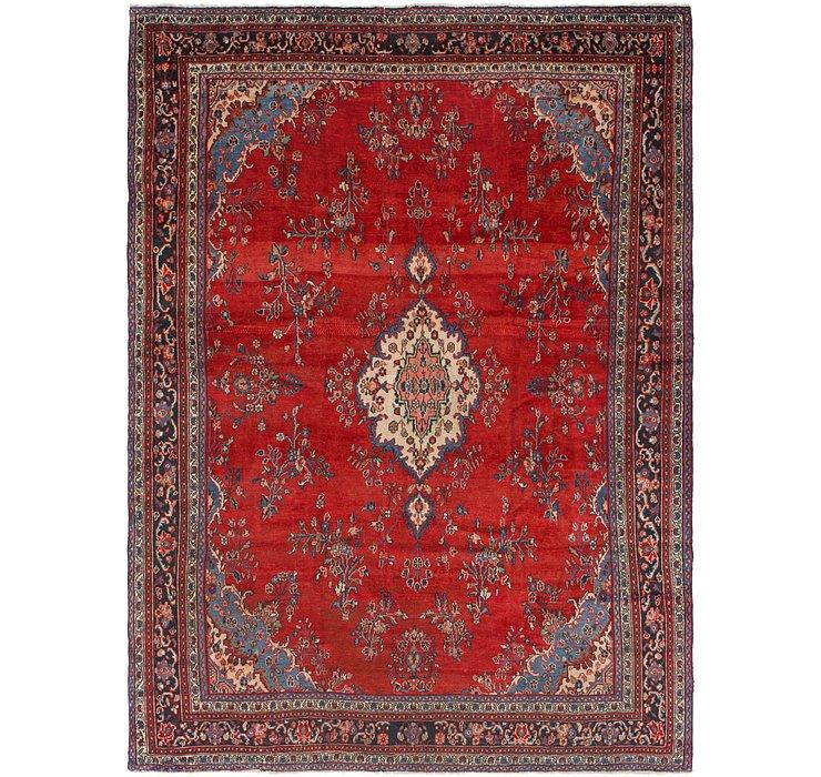 9' 5 x 12' 8 Hamedan Persian Rug