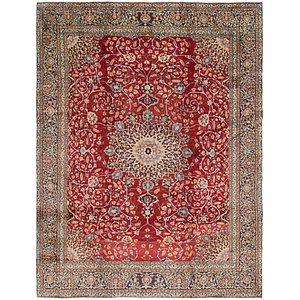 9' 6 x 12' 3 Isfahan Persian Rug