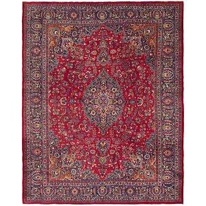 HandKnotted 9' 10 x 12' 6 Mashad Persian Rug