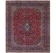 Link to 9' 6 x 11' 6 Mashad Persian Rug