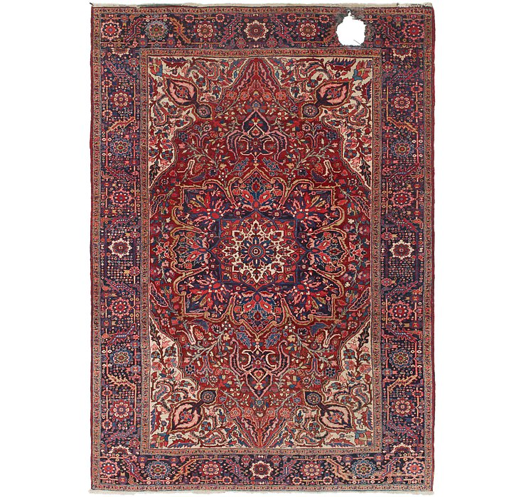 250cm x 353cm Heriz Persian Rug