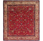 Link to 9' 7 x 10' 8 Tabriz Persian Square Rug