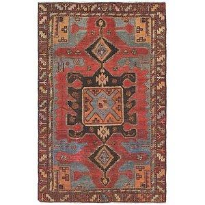 3' 7 x 5' 10 Viss Persian Rug