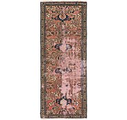 Link to 2' 5 x 5' 8 Hossainabad Persian Runner Rug