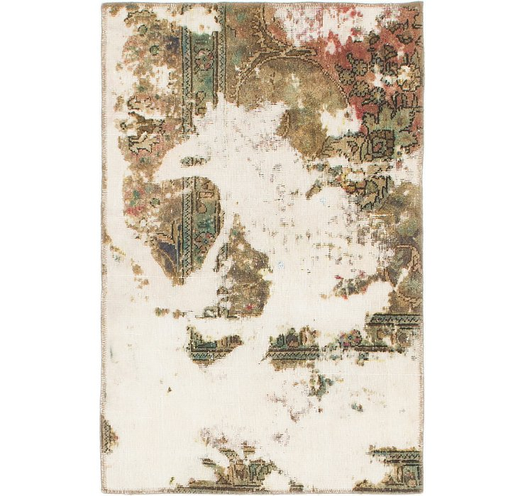 75cm x 112cm Ultra Vintage Persian Rug