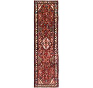 Link to 3' 7 x 12' 5 Hossainabad Persian Runner Rug